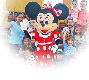 Mickey o Minnie Mouse